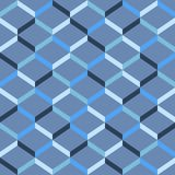 Abstract seamless striped pattern. Vector illustration Stock Photo