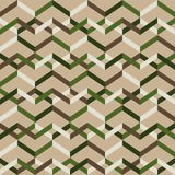 Abstract seamless striped pattern. Vector illustration Royalty Free Stock Photo