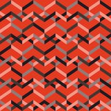 Abstract seamless striped pattern. Vector illustration Royalty Free Stock Photography