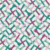 Abstract seamless striped pattern. Vector illustration Stock Photography