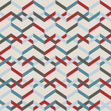 Abstract seamless striped pattern. Vector illustration.  Royalty Free Stock Photography