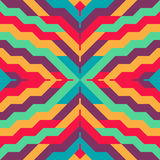 Abstract Seamless Stripped Pattern for Textile Design Stock Photography