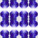 Abstract seamless symmetrical geometric background Stock Photo