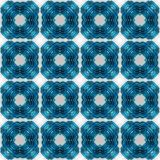 Abstract seamless symmetrical geometric background Royalty Free Stock Photo