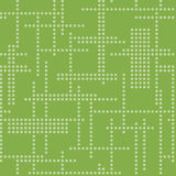Abstract seamless techno pattern. Vector greenery background Royalty Free Stock Image