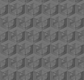 Abstract seamless texture of geometrical elements. Hexagonal pattern. Stock Photography