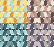 Abstract seamless textures circle element Royalty Free Stock Photos