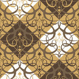 Abstract seamless traditional background Stock Photography
