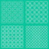 Abstract seamless traditional islamic patterns Royalty Free Stock Image