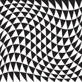 Abstract Seamless Triangle Pattern Stock Images