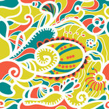 Abstract seamless vector background stock illustration
