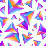 Abstract seamless background with multicolored pyramids. Abstract seamless vector background with multicolored pyramids Royalty Free Stock Photography