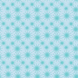 Abstract seamless vector background pattern illustration. Seamless background abstract pattern with repeating sparkle starry graphic ornament on the blue Stock Photography