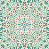 Abstract seamless vintage luxury ornamental vector pattern for fabric. Stock Photos