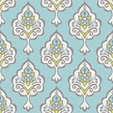 Abstract seamless vintage luxury pattern. Abstract seamless vintage luxury ornamental vector pattern for fabric and wallpaper Stock Photography