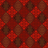 Abstract seamless vintage pattern Stock Photos