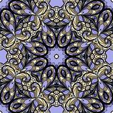 Lilac seamless pattern Royalty Free Stock Photo