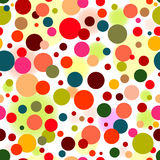 Abstract seamless vivid pattern Stock Photography