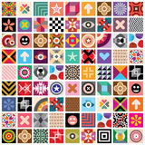abstract seamless wallpaper Στοκ Εικόνες