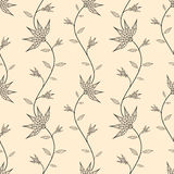 Abstract seamless wallpaper with flowers. Seamless background for your design royalty free illustration