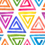 Abstract seamless watercolor pattern Stock Images