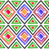 Abstract seamless watercolor pattern 3 Royalty Free Stock Photography
