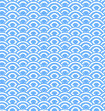 Abstract seamless wave stripes patterns,Repeating texture tiles Royalty Free Stock Photos