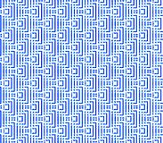 Abstract seamless white background with blue and black lines and squares. Abstract seamless white background strips and small squares of dark blue and lined in Royalty Free Stock Image