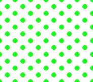 Abstract seamless white background with dark green balls green stroke. Abstract seamless green background with dark green balls green stroke placed in rows, a Stock Photo