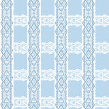 Abstract seamless white lace pattern texture background Stock Images