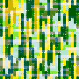 Yellow-green grid pattern Stock Images