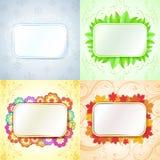 Abstract seasonal frames Stock Photos