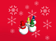 Abstract seasonal and holiday background Stock Images