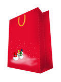 Abstract seasonal and holiday bag Stock Photo