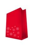 Abstract seasonal and holiday shopping bag Royalty Free Stock Image