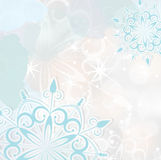 Abstract seasonal winter background Stock Photo
