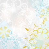 Abstract seasonal winter background Stock Photography