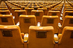 Abstract seat rows Stock Photos