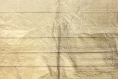 Abstract sepia crumpled paper Royalty Free Stock Images