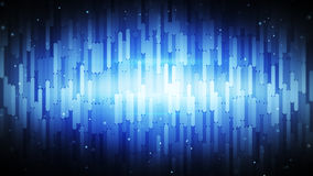 Abstract sequences blue background Royalty Free Stock Image