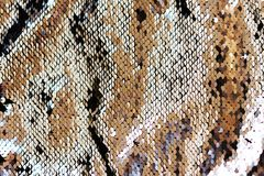Abstract sequins background. Place for text. Blur royalty free stock image