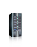 Abstract server. Isolated,networking tech Stock Photo