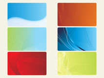 Abstract set of banner Stock Photography