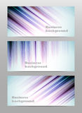 Abstract set business banner backgrounds Royalty Free Stock Photos