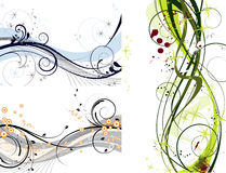 Abstract set decoration Royalty Free Stock Photography