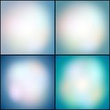 Abstract set of multicolored backgrounds, Royalty Free Stock Image