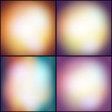 Abstract set of multicolored backgrounds, Stock Photo