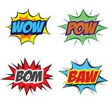 Abstract set of pop art objects vector illustration