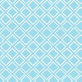 Abstract shabby chic geometric seamless vector pattern background with white brush stroked diamond shapes for fabric stock illustration