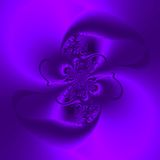 Abstract in Shades of Purple Stock Photo